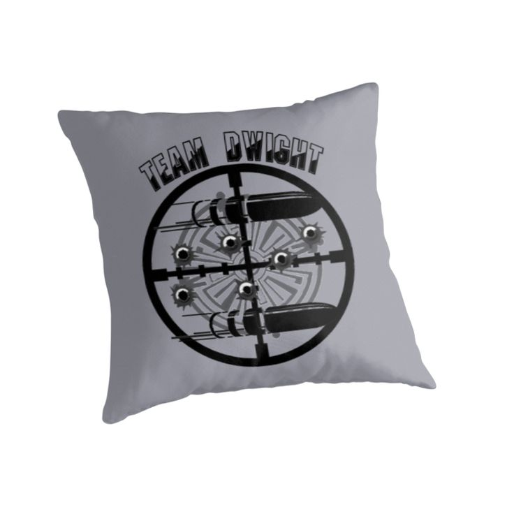Haven Syfy Inspired Pillow |  Haven Team Dwight Bullet Magnet Black Logo