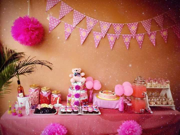Baby shower/ Baptism dessert buffet set For bookings and inquiries text 0927-4981068