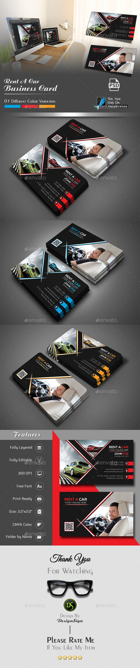 267 best business card visiting card images on pinterest rent a car business card magicingreecefo Images