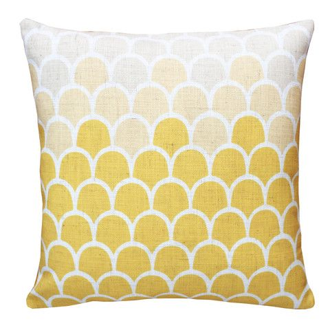 Hot Springs Ombre | Popcorn Yellow