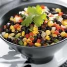 corn and  Black Bean Salad - sweet side dish for spicy mexican - refreshing!