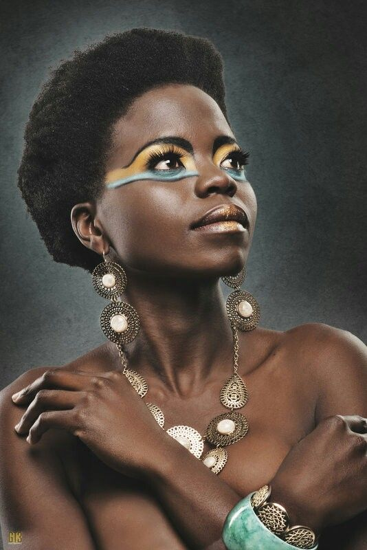 Another Egyptian inspired shot. Make Up and hair by PROface. visiting our page www.Facebook.com/zaneldavproface