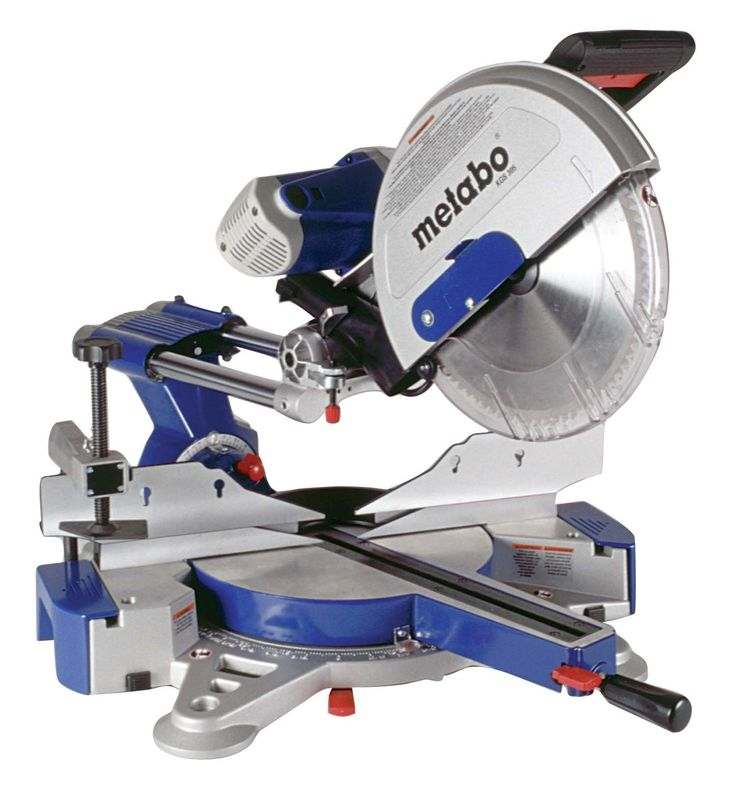 Metabo KGS305 12-Inch Dual-Bevel Sliding Compound Miter Saw. 12-inch dual bevel sliding compound miter saw ideal for crosscutting material up to 12-1/2 inches wide, 4-3/4 inches high. Indicates roof pitch angles on the miter scale for quick, precise cuts. Powerful 15-amp 2000-watt motor achieves no-load speed of 3,800 rpm. Bevel angle adjusts quickly and easily, flip stop depth function guarantees consistent cutting depth. 3-year limited warranty.