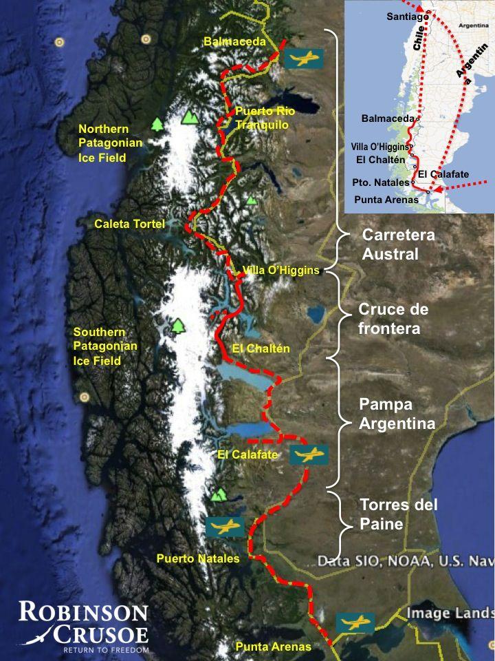 Chile Location On World Map%0A Mapa Ruta