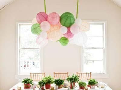 16 best images about spring party decoration ideas on for Ceiling hanging decorations ideas
