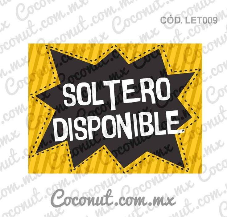 "Letrero para fiestas ""Soltero disponible""Letrero para fiestas, Letrero para fotos resistente al agua, encuéntralo en https://www.coconut.com.mx/collections/letreros-para-fiestas y obtén tu envío gratis a partir de $500 en la república mexicana Síguenos en Facebook https://www.facebook.com/coconutstoremx/ #Wedding #Despedidadesoltera #BacheloretteParty #BachelorParty #Party #Friends #Photobooth #Photos #Fotos"