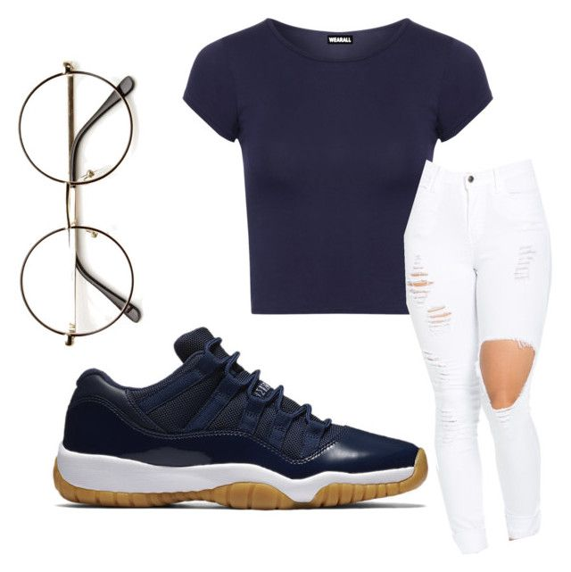 """""""Untitled #106"""" by qveenmm on Polyvore featuring WearAll and NIKE"""