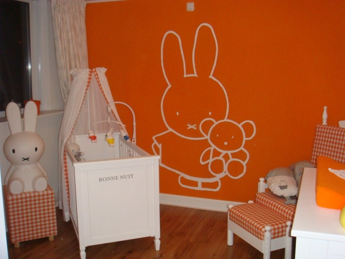 behang babykamer oranje ~ lactate for ., Deco ideeën