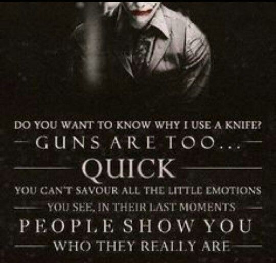 Joker is awesome