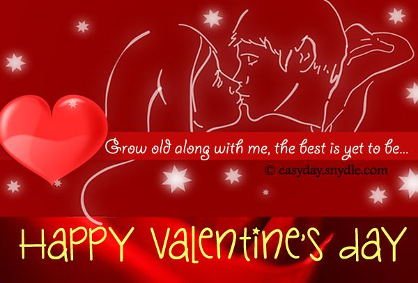 Life has become more meaningful because of you. I can't imagine my life without you. I am happy because of you.  Nothing can compare with you Not even the flowers in full bloom Nor the beautiful sunset in the west. I wish to bring you happiness And all the love, even my life! Happy Valentine's Day!