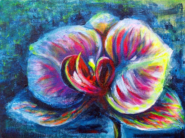 Orchid (18 cm x 24 cm)