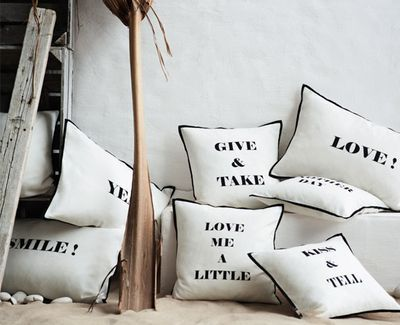 pillows that speak to you.Sewing Kits, Crafts Ideas, Inspiration, Cushions, Pillows Talk, Marriage Advice, Products, Decor Textiles, Lounges Area