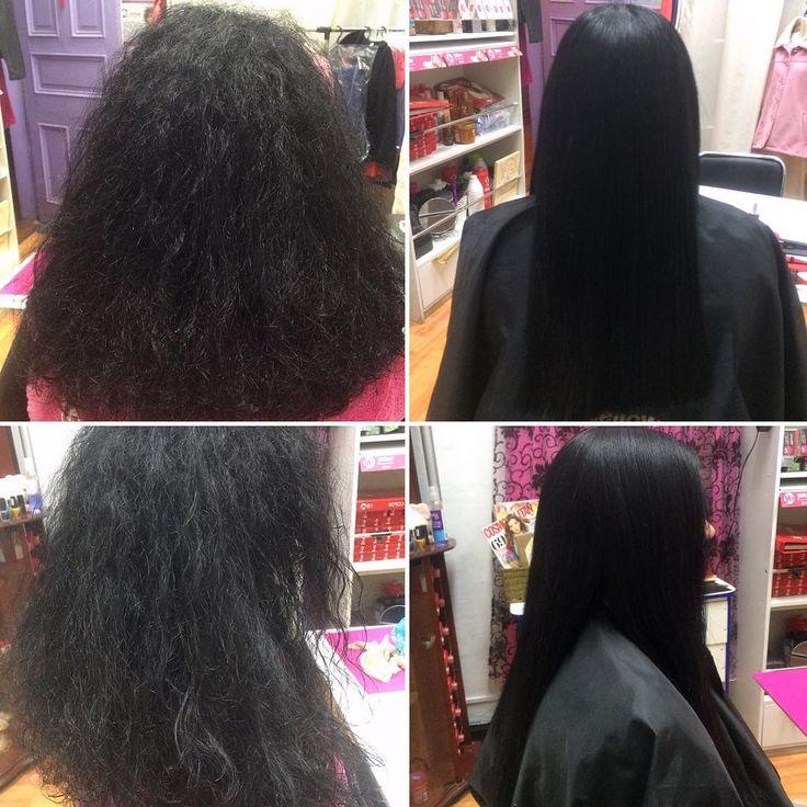 Alisado Keratina #javianabeauty #cabellohermoso #cabellosano…