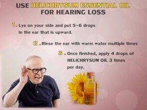 HELICHRYSUM OIL FOR HEARING LOSS