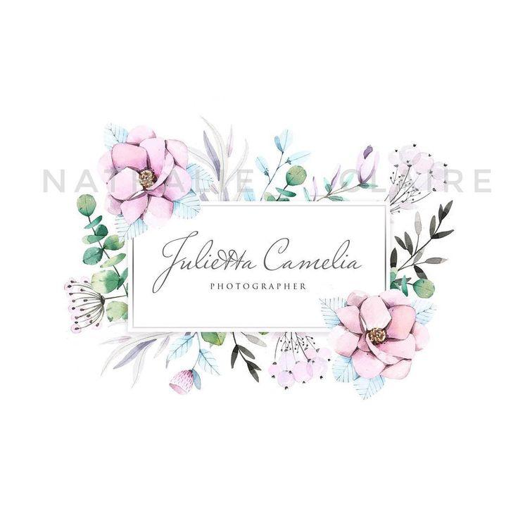 Логотип для фотографа @juliettacamelia, очень нравятся мне такие цвета, одно из любимых сочетаний #logo_by_nathalie
