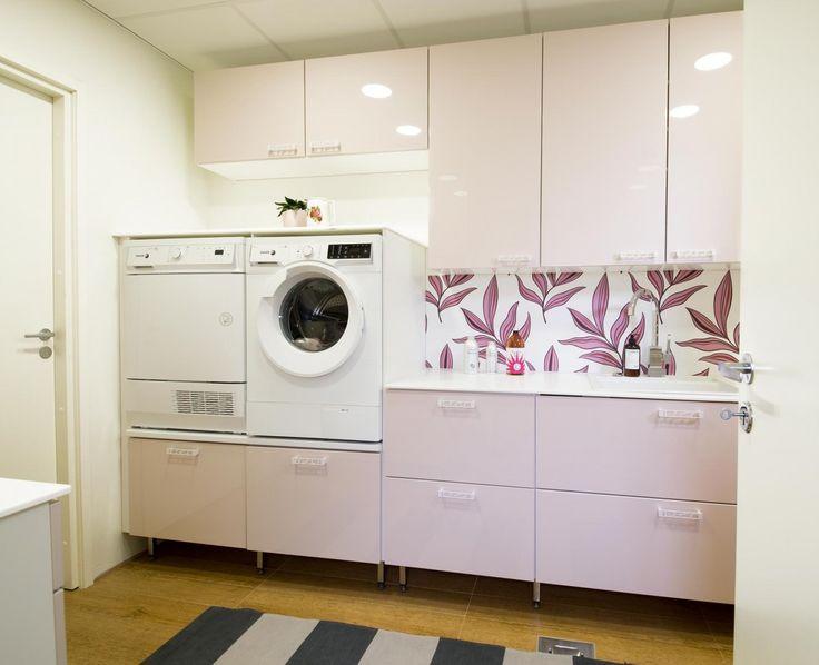Pinkki kodinhoitohuone - Unique Home