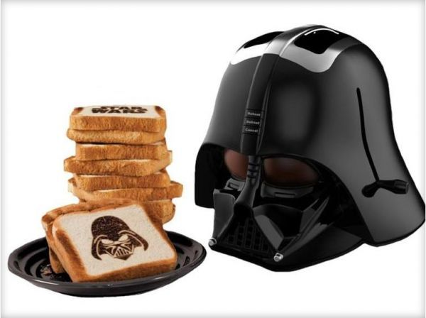 This Darth Vader Toaster is Truly a Thing of Beauty