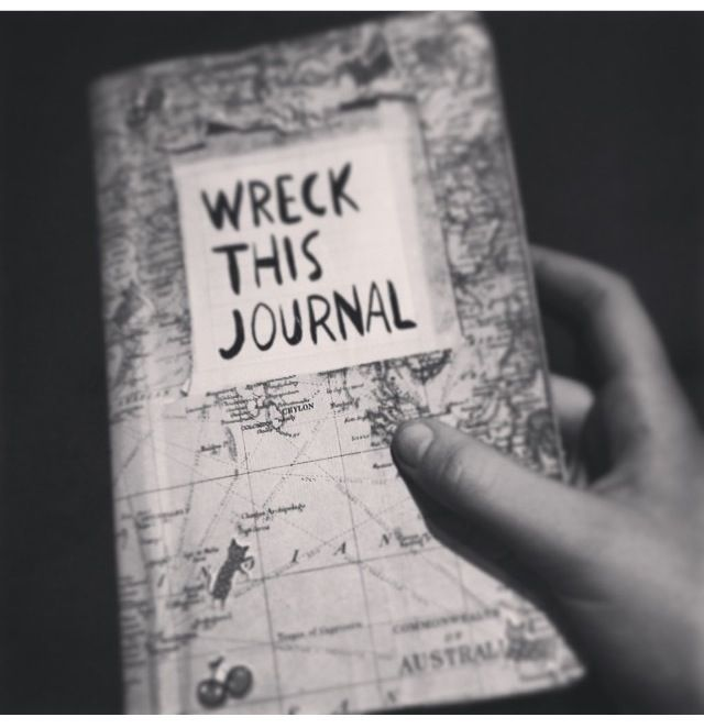 Since I love the world And traveling so much  I'm doing a world map As my wreck this journal cover