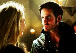 3.21- Emma about to go flirt with Past!Hook and Killian is not happy about…
