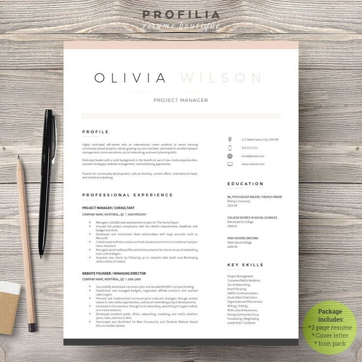 25 Best Resume Images On Pinterest Resume Templates, Letter   Microsoft Publisher  Resume Template  Publisher Resume Templates