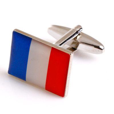 France National Flag Cufflinks