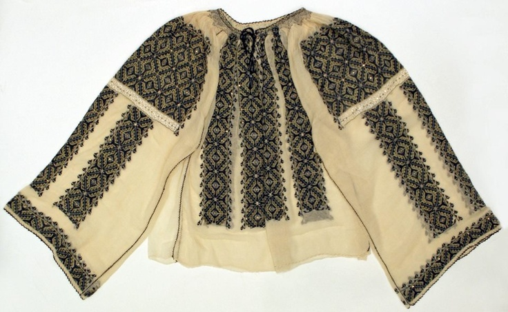 Romanian blouse   The Metropolitan Museum of Art, New York  Date: 20th century   Credit line: Bequest of Clarissa Gwendoline Condon, 1968