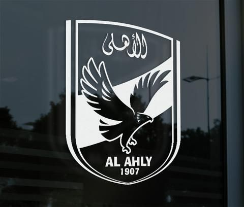 Al Ahly Egypt Decal Sticker - Pandemic Soccer - 1