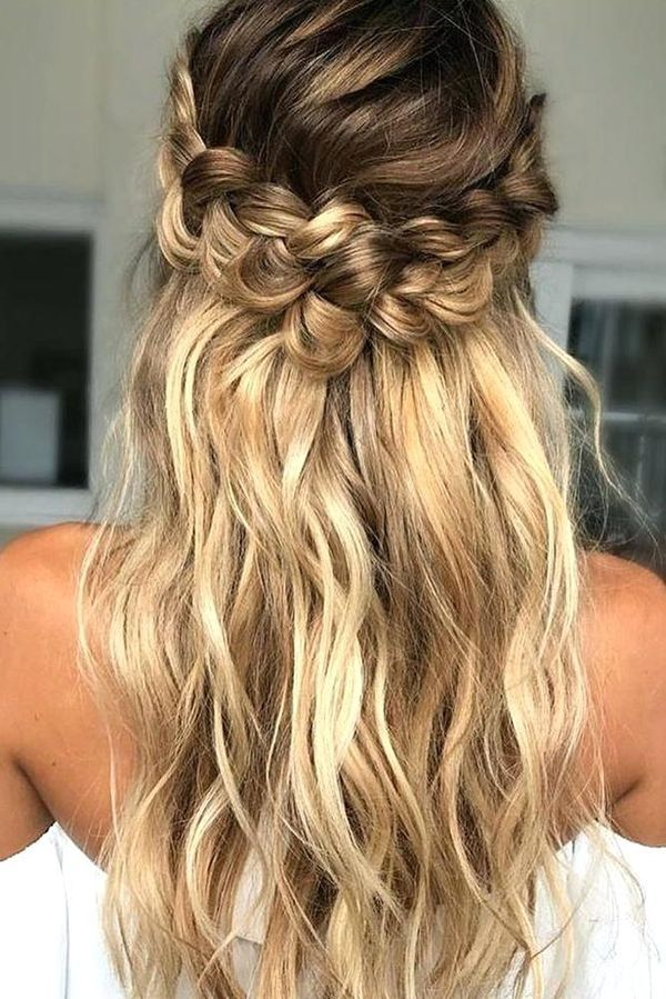 Hairstyles For Long Thin Hair Easy Ideas For Long Fine Hair Long Thin Hair Simple Prom Hair Loose Curls Hairstyles