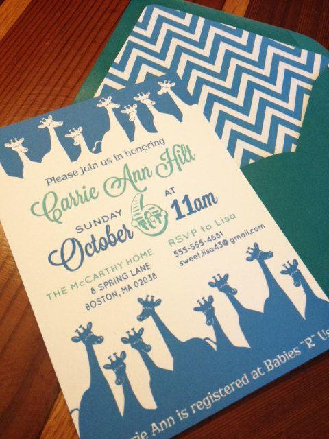 DIY Printable Baby Shower Invite Printing by Waverlyand8th on Etsy, $15.00