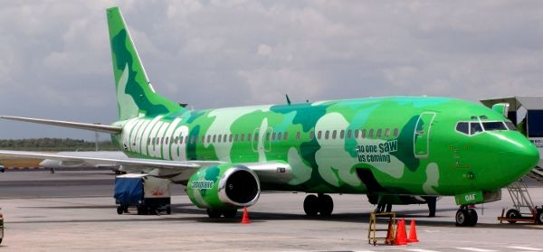 Now you see it, now you don't!  Camo plane