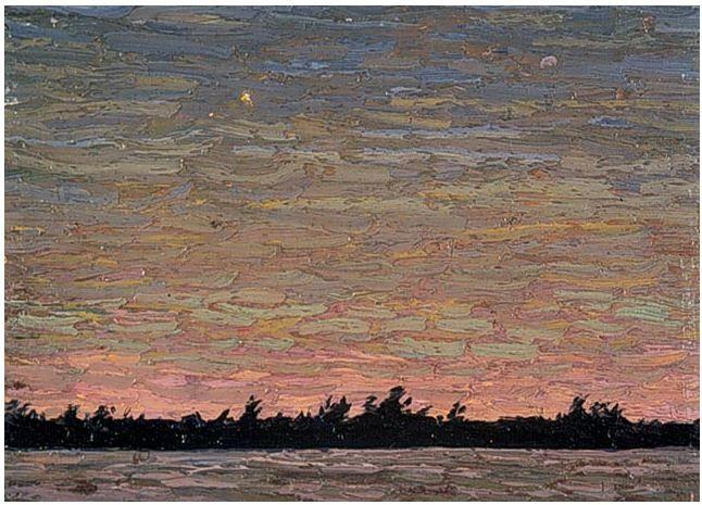 Tom Thomson Catalogue Raisonné | Windy Evening, Summer 1914 (1914.47) | Catalogue entry