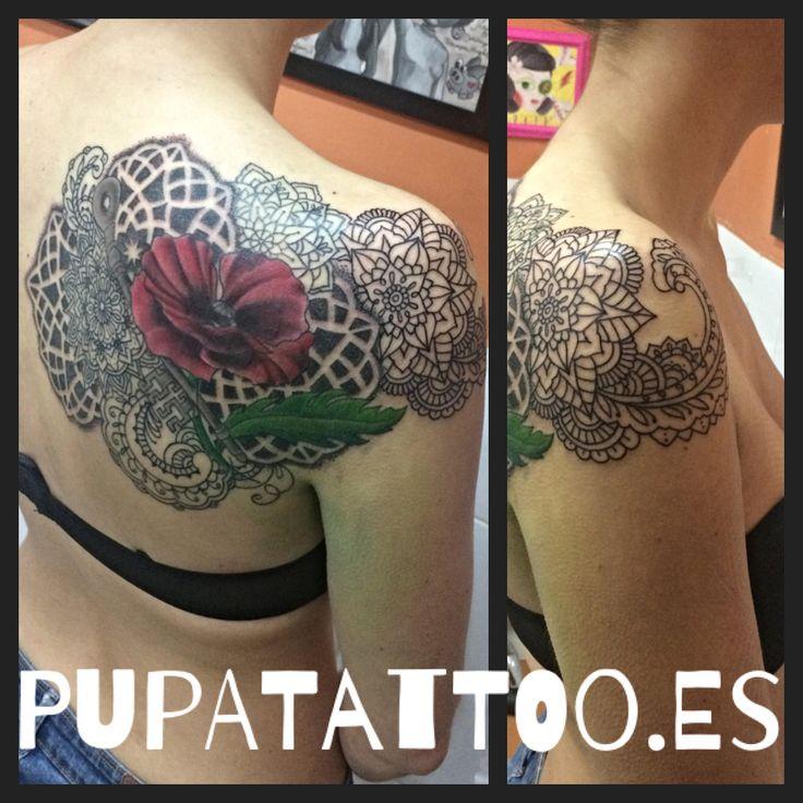 https://flic.kr/p/UpDGHr   Tatuaje Mandala cover up Pupa Tattoo Granada   instagram : instagram.com/pupa_tattoo/  Web: www.pupatattoo.es/  Citas: 958221280  #tattoo #tattoos #tatuaje #tatuajes #tattoogranada #ink #inked #inkaddict #timetattoo #tattooart #tattooartists