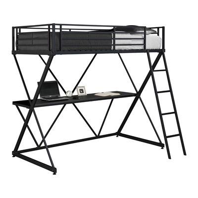 Dorel Home Furnishings Canada 5440096 X-Loft Twin Metal Bunk Bed