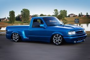 Salvatore Bruno's 1994 'Sit N Low' Ford Ranger Splash