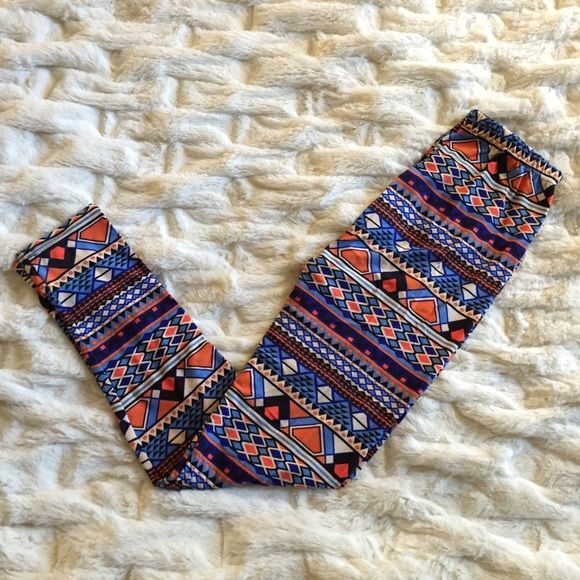 printed crazy pant leggings  printed crazy pant leggings • one size (fits small to extra large) • gently worn once Pants Leggings
