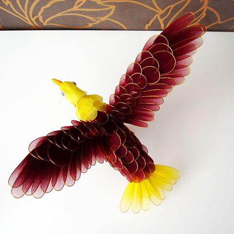 Photo gallery, Made from mesh nylon: Bird, (nvp000010)