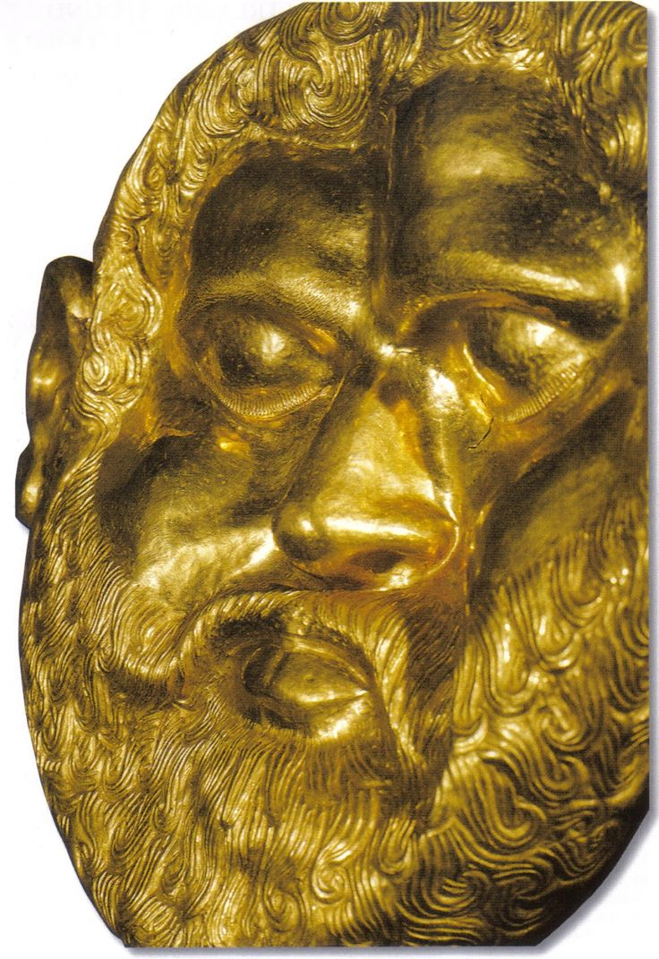 GOLD MASK of A THRACIAN KING