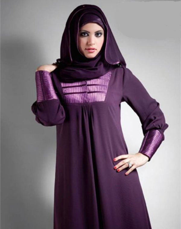 Hijabs and Abayas were preferred by working ladies but since they have gain so much popularity with respect to fashion thus every class of women are using them as a part of their daily wear. Description from dhoomfashiontrend.com. I searched for this on bing.com/images