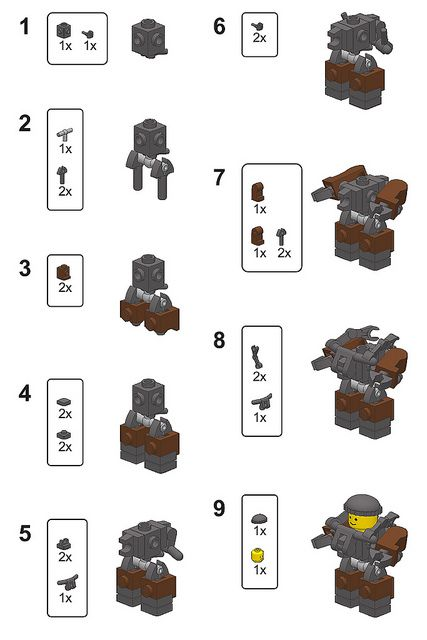 Mini Hardsuit Instructions | Flickr - Photo Sharing!
