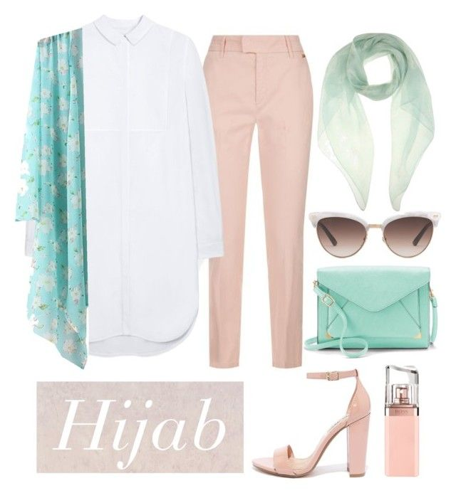 """hijab"" by rabiasemx on Polyvore featuring Escada Sport, Mulberry, Apt. 9, Steve Madden, Gucci, HUGO and Alexander McQueen"