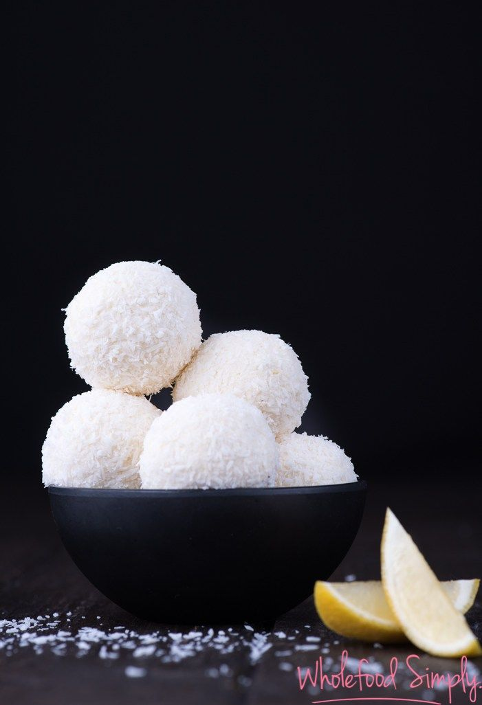 Lemon Cheesecake Bliss Balls