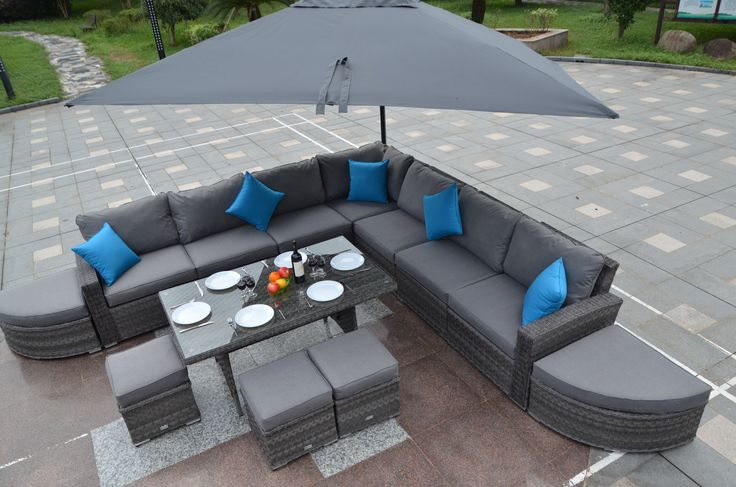 Why not spend this #Christmas in the garden with on of our weatherproof Rattan Garden Furniture sets!  #UK #Furniture #Rattanfurniture