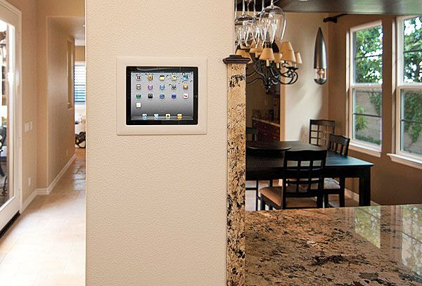 iPort wall mount for your iPad. Supports a variety of downloadable applications for home automation control.