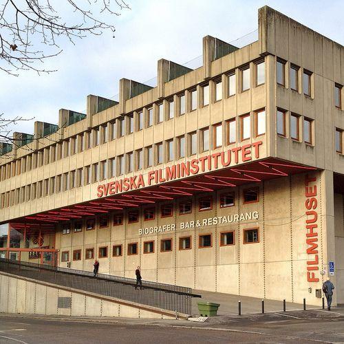 The Movie Building II by hansn on Flickr. Ladugårdsgärdet, Stockholm, Sweden.Via Flickr: (Swedish: Filmhuset) The seat of the Swedish Film Institute, built 1968-70. Architect: Peter Celsing (1920-74). en.wikipedia.org/wiki/Swedish_Film_Institute