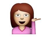 Information Desk Person - Screenshot of iOS Emoji