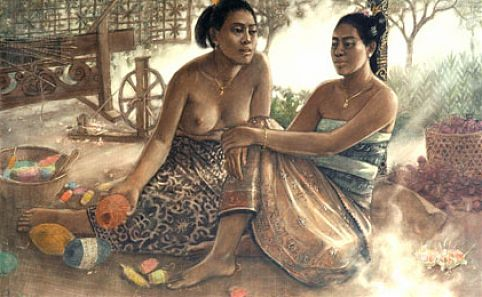 Bali - The Romance of Bali: Recent paintings by Huang Fong :: Galleries :: Art :: Time Out Singapore