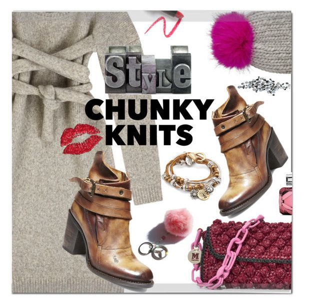 """Chunky & Styled"" by kitty-kimber ❤ liked on Polyvore featuring Finery London, M Missoni, Eugenia Kim, Steve Madden, Lizzy James, Gucci, Lapcos and C. Jeré"