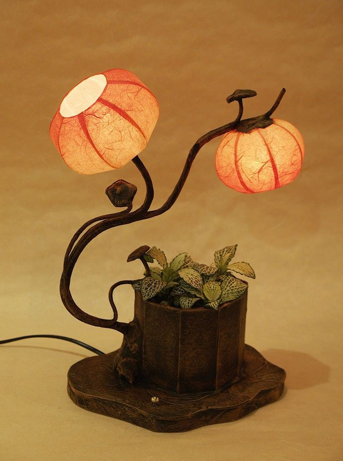 #Korea #Antique #LivingRoom #Interior #Design #Decor #PaperLantern #Stand #Lamp #Anemone #Flower #DURICRAFT