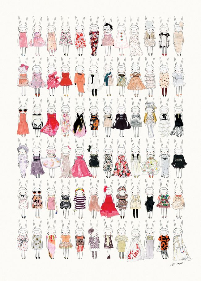 All the Pretty Dresses poster Fifi Lapin's shop announces Grand Opening,  04/29/2014