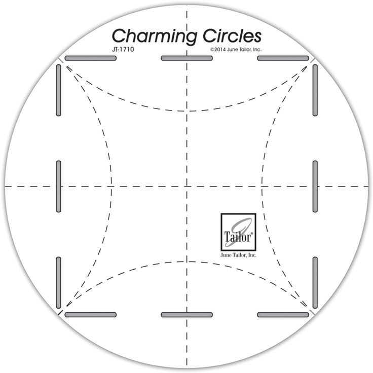 Charming Circles RulerCharming Circles Ruler,